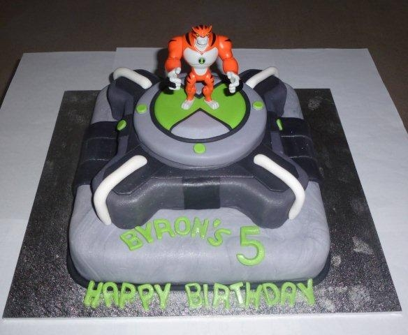 Gregs Ben 10 Cake For Byrons 5th Birthday