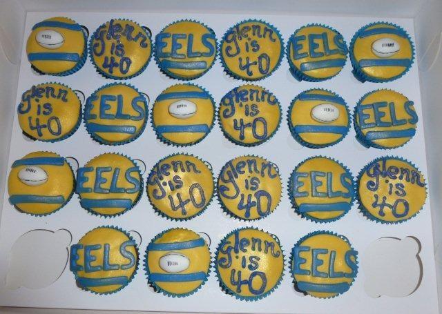 Parramatta eels cake decorations